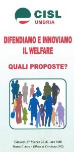 difendiamo e innoviamo il welfare