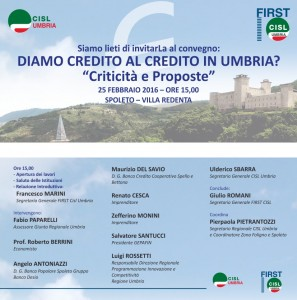diamo credito al credito in umbria