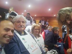delegazione umbra al convegno 30 ottobre