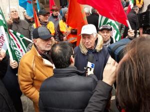 manifestazione pensionati 28 dicembre 2018