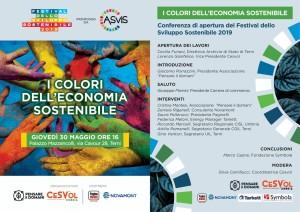30 maggio 2019 - i colori dell'economica sostenibile